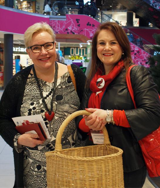 Katja Luojus & Sirpa Pietikäinen