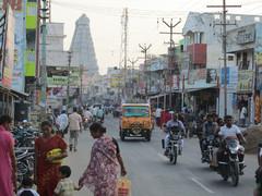 Katunäkymä.  A street view. Tiruvannaamalai 2.3.