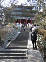 Jing Shan puisto.  Jing Shan park.   Peking/Beijing   10.3.
