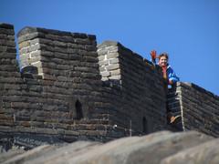 Kiinan muurilla.      The Great Wall.  11.3.  Kuva S.P.