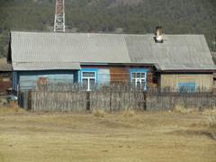 Venäjällä.  Radanvartta junan ikkunasta.  In Russia, seen through window.   25.3.