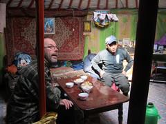 Jurtassa I ,   In yurt.    23.3.