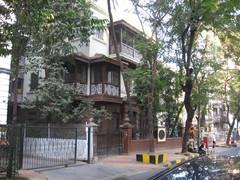 Mahatma Gandhin talo. Mahatma Gandhi's house.  Mumbai 13.1.  Kuva S.P.