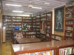 Gandhin kirjasto.  Gandhi's library.  Mumbai 13.1.  Kuva S.P.