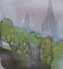 """""""Praha 1""""   2009   19-x-20-cm"""