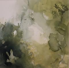 Flora -näyttely, Metsä II, 2019, 26 x 26 cm