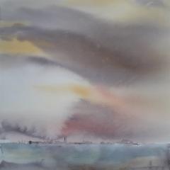 Tuuli I, 2019, 38 x 38 cm