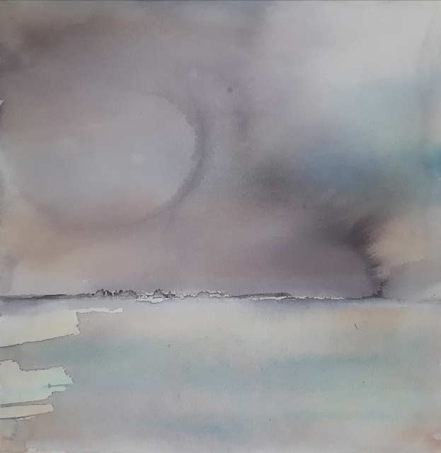 Tuuli II, 2019, 38 x 38 cm