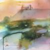 Sinilevä, 2019, 28 x 28 cm