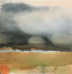 """Korona""; Bastholmen 2020, 36 x 36 cm"