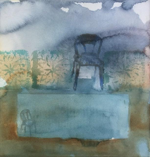 """Kuiskaaja""; Bastholmen 2020, 28 x 28 cm"