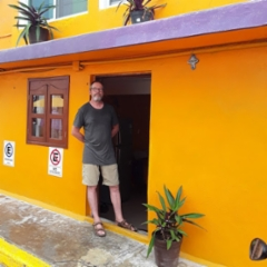 Isla Mujeres, casa Naranja