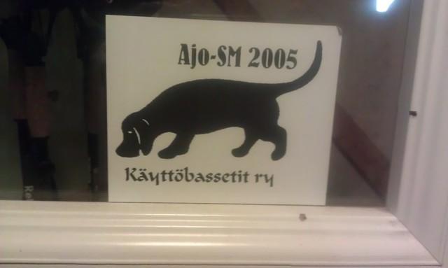 Nostalgiaa vuodelta 2005. Kuva on Sievin Basa-kisojen pääpaikalta 2013.
