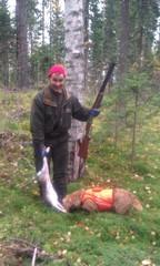 Wappu ja saamamies, Lieksa syksyllä 2013 (Simpe Mäkinen)