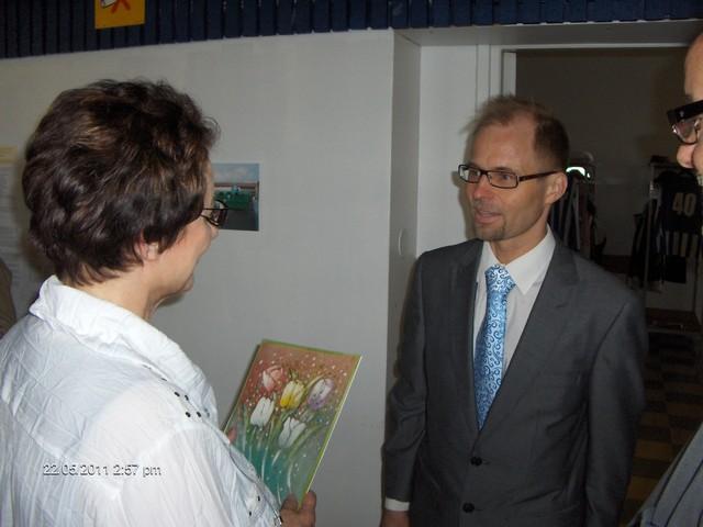 Tukiliittoa edusti toiminnanjohtaja Risto Burman. Onnitelut otti vastaan puheenjohtaja Sirkka Tuominen.