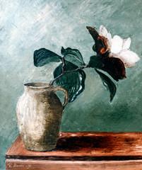 kukka-ruukussa