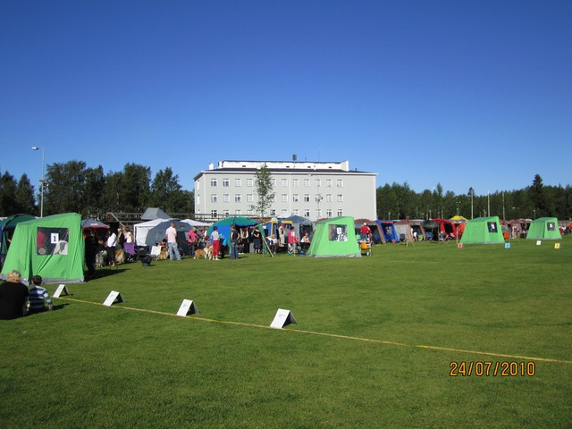 Näyttelyalue Karihaara 2010