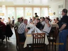 Näyttelyn tuomari-illallinen Puistopaviljongissa 2010