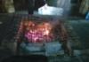 Huiluntuhti tirisi grillissä