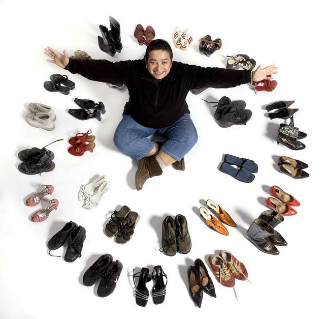 Kiba and shoes
