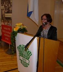 Puheenjohtaja Hilkka Tihinen