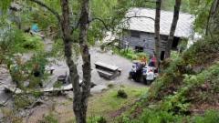 Myllykoski Juuman lähellä Karhunkierroksen varrella