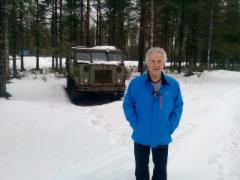Suomussalmen historiasta ja Raatteen tien taisteluista esityksen piti Eero Shroderus 2.4.2016