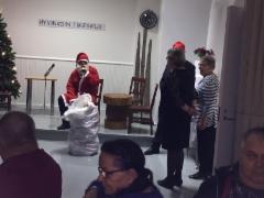 Joulupukki vieraili
