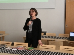 Paula Ylikulju Oulun Seudun Muistiyhdistyksestä 8.3.2018