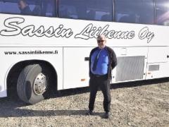 Linja-auton kuljettaja Markku