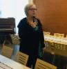 Kaupunginvaltuutettu Anne Huotari porinakerhossa 14.2.2019