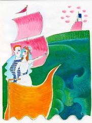 Häät merellä