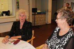 Puheenjohtaja Rainer ja Hildegardin pöydässä Upy:n ja Helsingin juhlavieraat