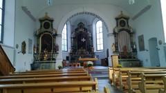 Päätepysäkki, St Peterzellin (ent) luostarin kirkko