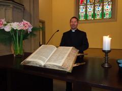 Pappina toimi Juha Klaavu