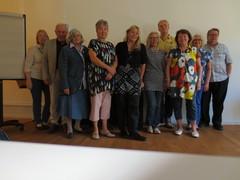 Baselin kokouksen osanottajia