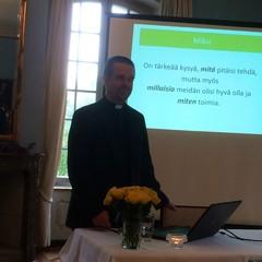 Antti Kylliäisen luennot olivat tosi mielenkiintoisia
