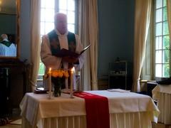 Kaj Engström toimitti jumalanpalveluksen