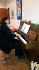 Marjaana Miettisen johdolla laulaminen sujui mukavasti