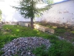 talkoot 2011 Igumenin puutarhan työmaa