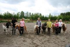 Leirikisat :) hienosti olivat ponit oppineet parissa päivässa vaikka mitä ja menivätkin kuin vanhat tekijät!