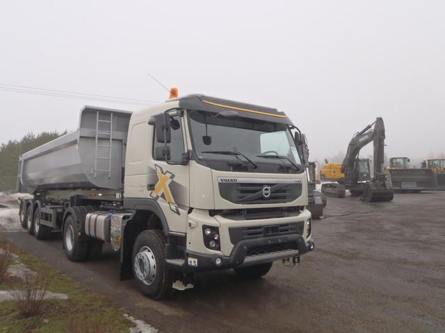 Volvo FMX maansiirtoajoon