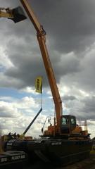 REMU BigFloat kelluvaa kaivukone herätti huomiota Intermatissa