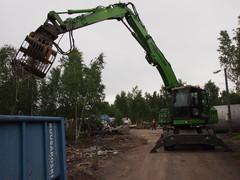 Tilaa Sennebogen -materiaalinkäsittelykone demokäyttöön työmaallesi Konekeskolta!