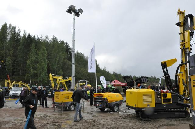 Maarakennusalue FinnMETKO 2014