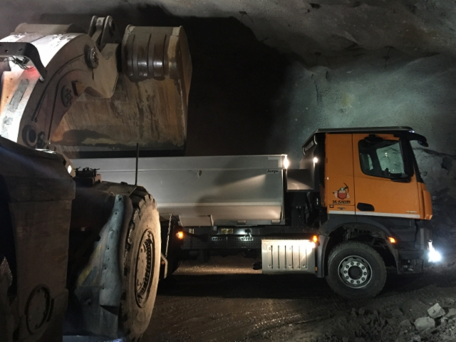 SK-Kaivin Oy urakoi Dragon Mining Oy:lle malmikiven Jokisivun kultakaivoksessa
