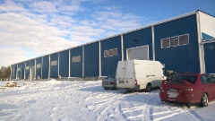 GripenWheelsin uusi varasto-osa ja myyntikonttorit valmisteilla  maaliskuu 2016.