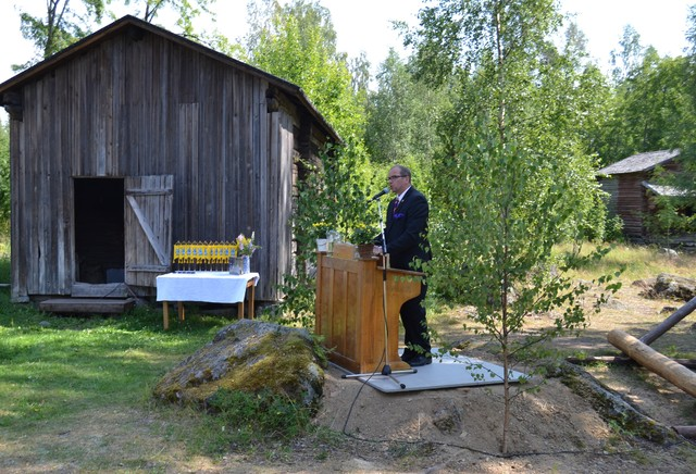 Tervehdyssanat puheenjohtaja Kalevi Sillanpää
