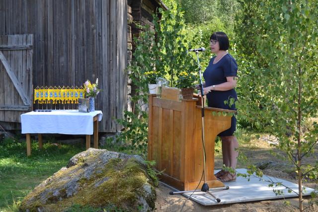 Juhlapuhe Suomen Kotiseutuliiton toiminnanjohtaja Riitta Vanhatalo