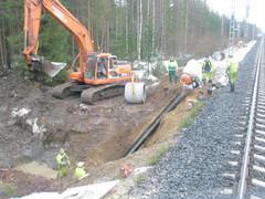 Parikkala-Joensuu rumpujen korjaus 2008